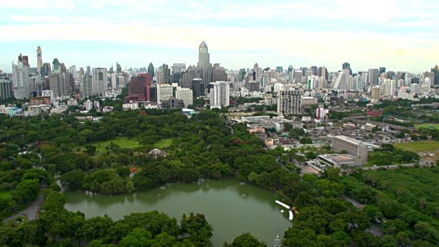 Lupini Park in Bangkok