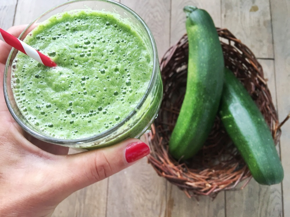 smoothie met courgette
