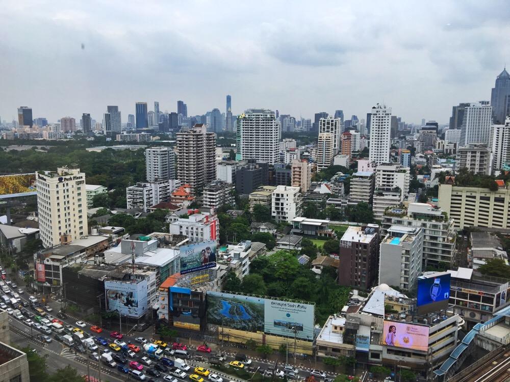uitzicht The Continent Hotel Bangkok
