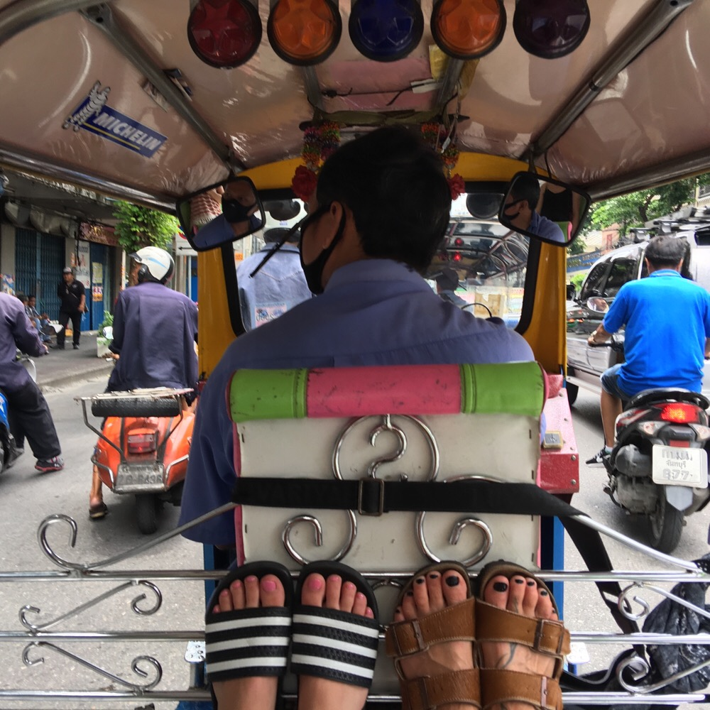 Tuktuk in Bangkok