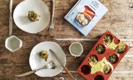 Recept: easy groentemuffin (+ win 2x Easy Peasy Lunchbox)