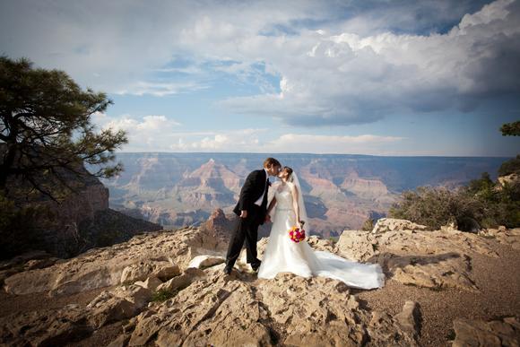 grand canyon wedding