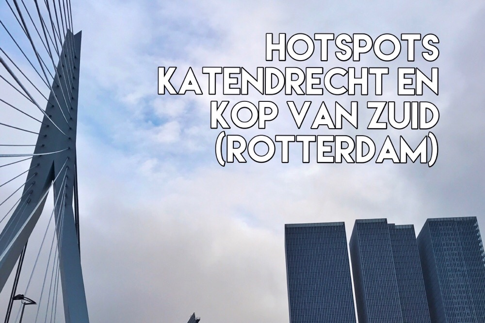 Hotspots in Katendrecht en Kop van Zuid