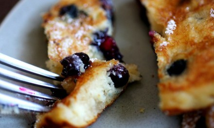 Recept: 'Kochart' bosbessen pannenkoeken