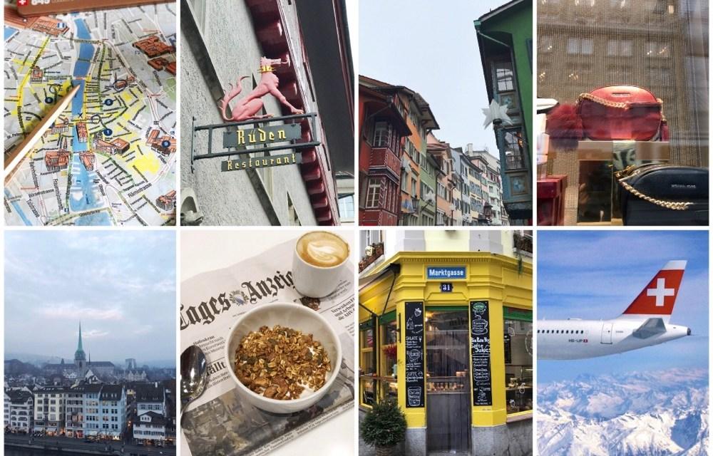 Citytrip Zurich? Tips voor heerlijke dagen