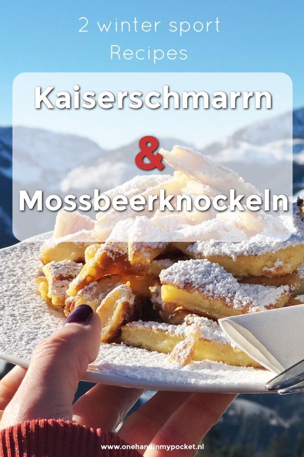 recept Kaiserschmarren en Mossbeerknockeln