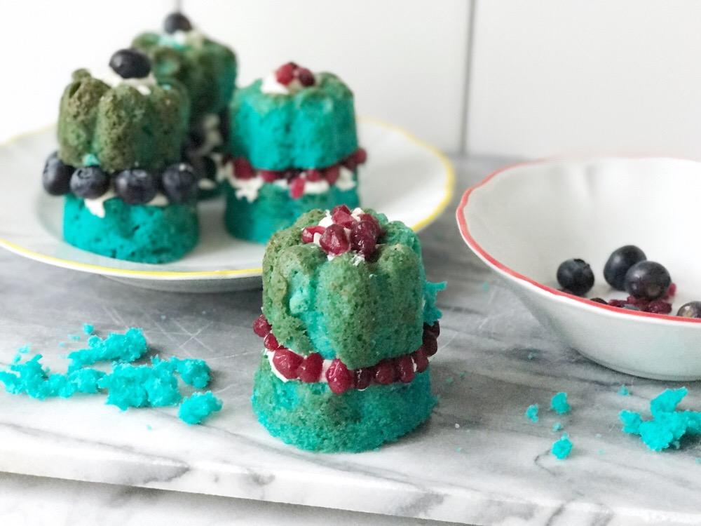 blue velvet cup cakes