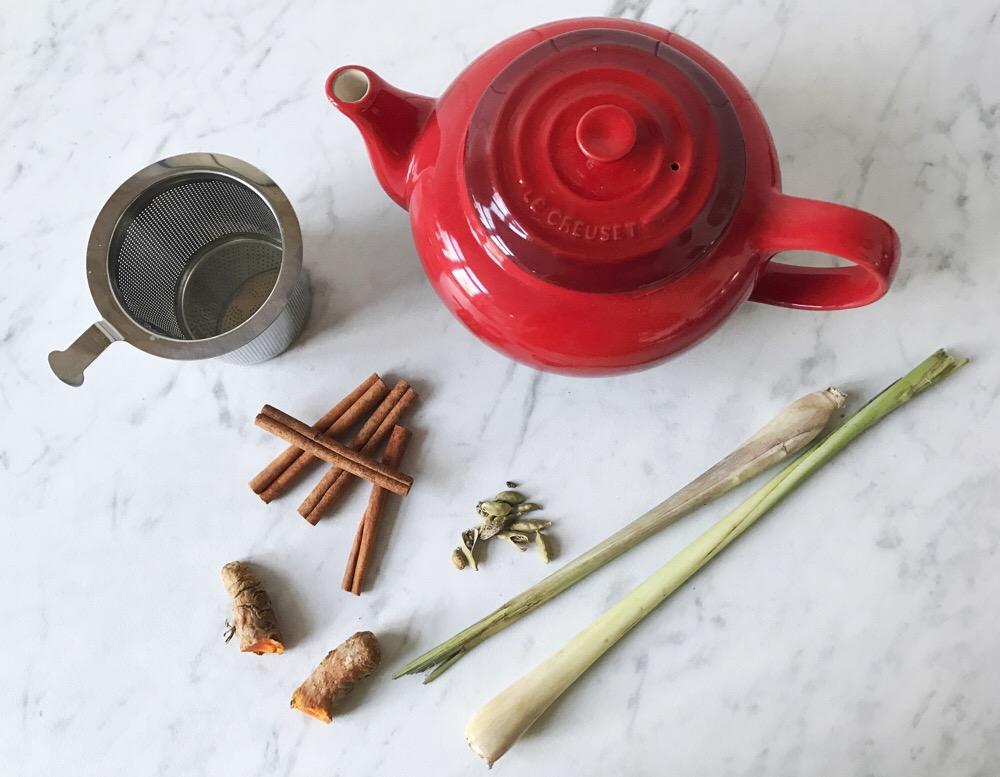 ingrediënten detox thee