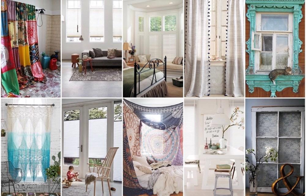 10x inspiratie voor raamdecoratie