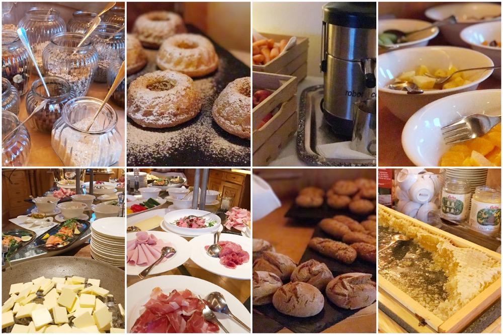 ontbijt Sportalm in Kirchberg