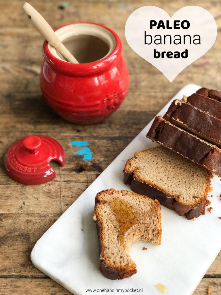 recept voor Paleo bananenbrood