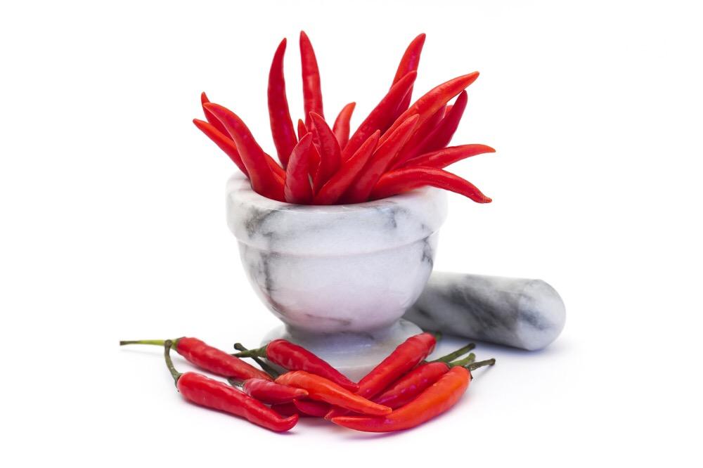 rode pepers voor sambal
