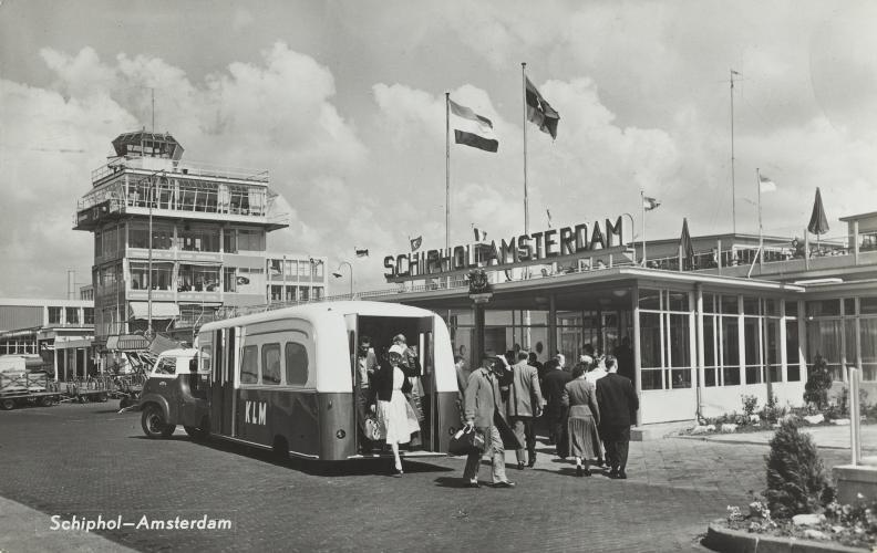 Schiphol jaren 50