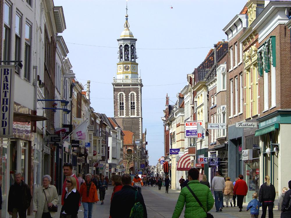 Oudestraat Hanzestad Kampen