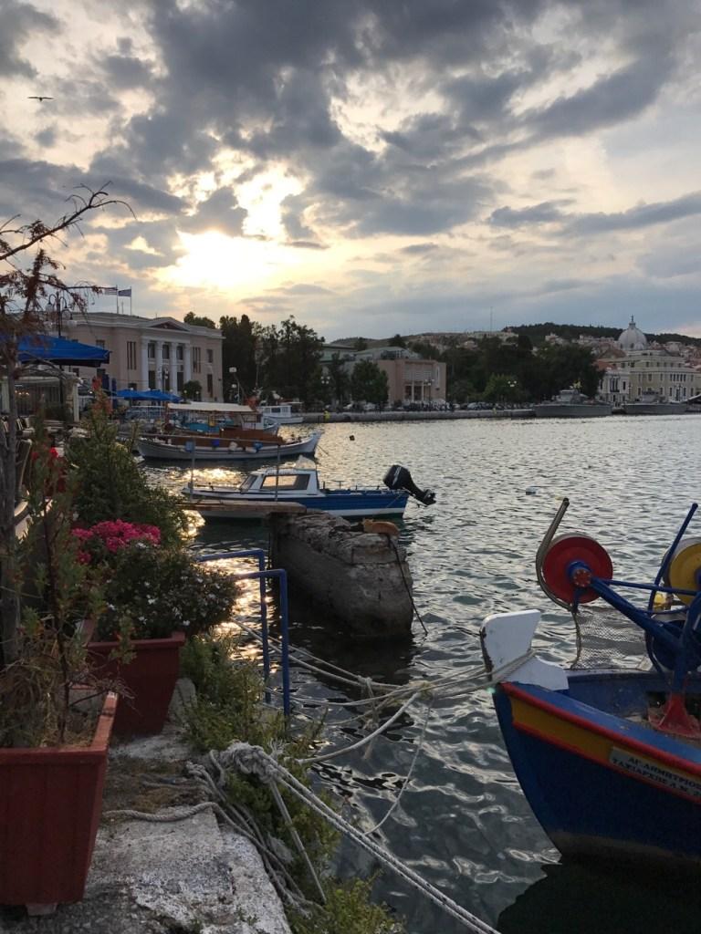 hoofdstad Lesbos