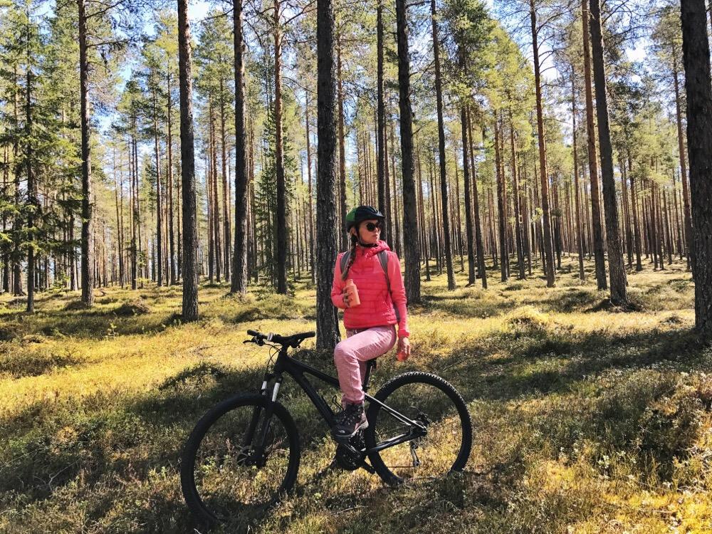 mountainbiken Lapland