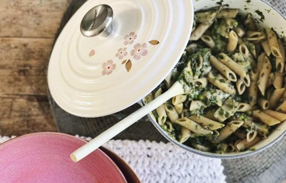 (Studenten)recept: pasta met spinaziesaus (kidsproof)
