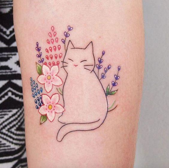 tattoeage van poes