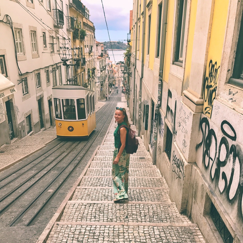funicular Lisbon