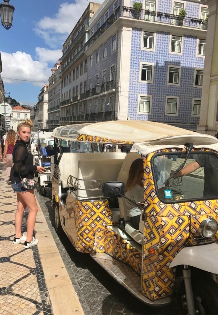 tuktuk Lissabon