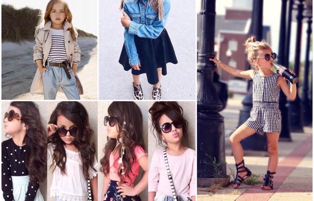 De opmars van de mini fashionista: hot or not?