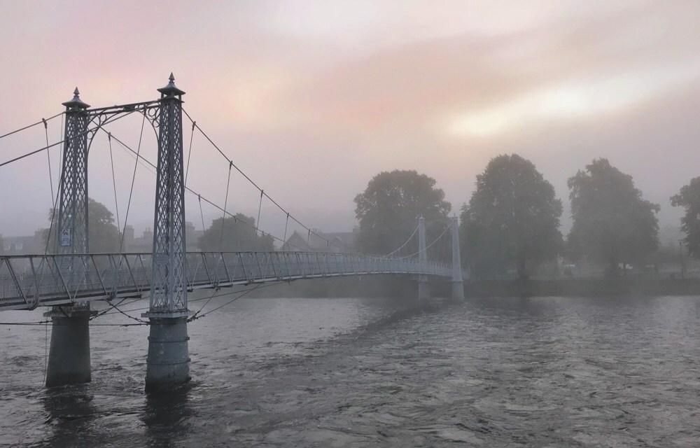 De 10 mooiste Schotland foto's (ochtendwandeling Inverness)