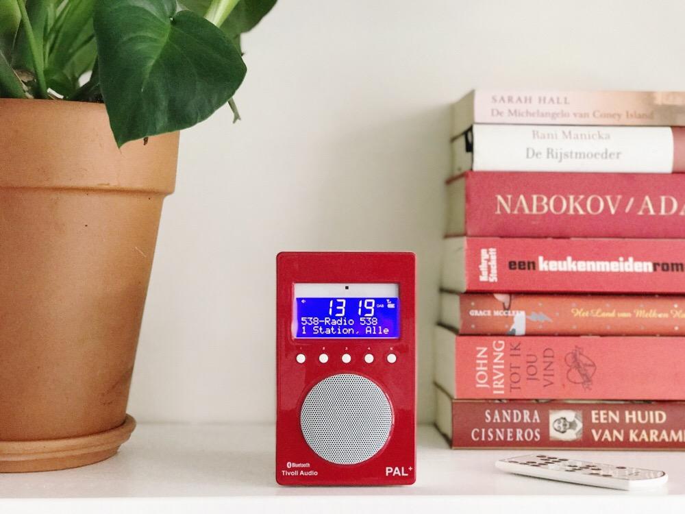 Tivoli radio rood met bluetooth