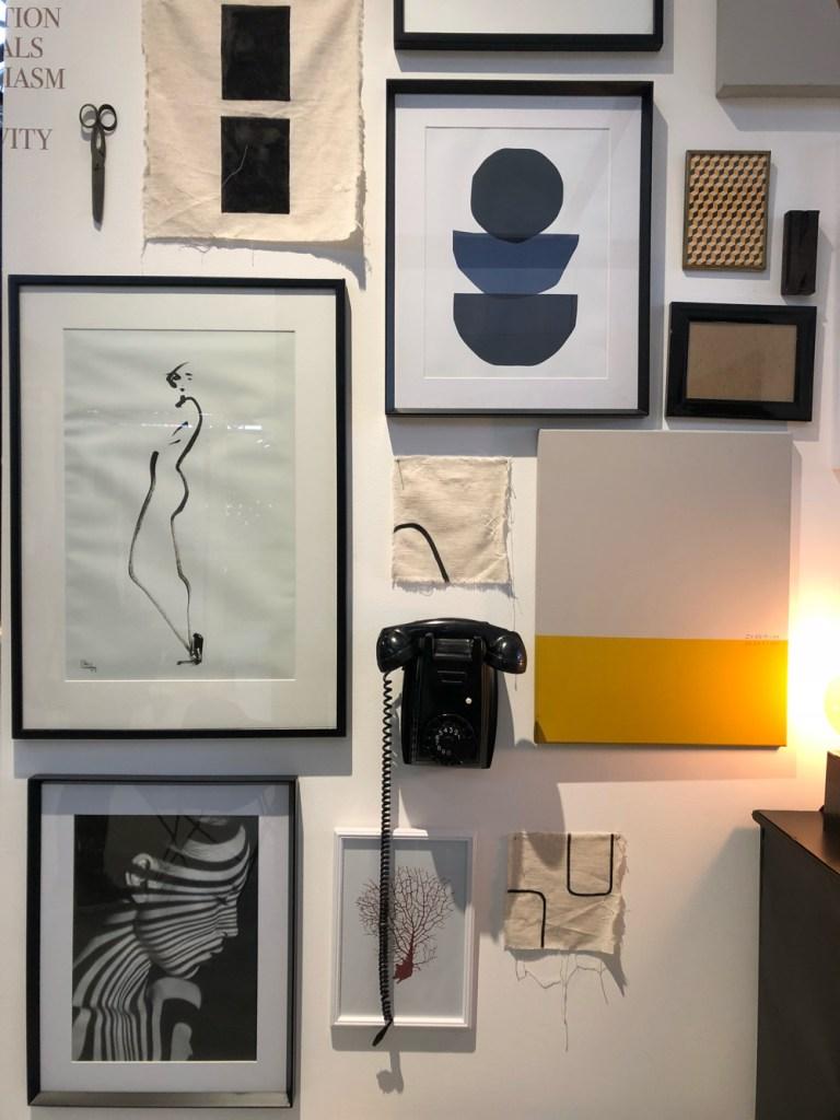 wooninspiratie: gallery wall