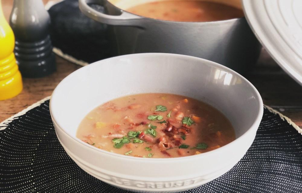 Winterkost recept #6: Bruine bonensoep met zoete aardappel