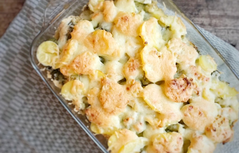 Winterkost recept #10: ovenschotel met kip en broccoli