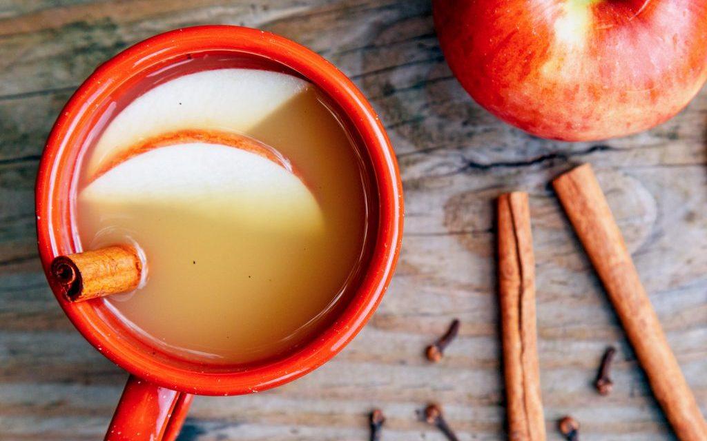 Recept voor Amerikaanse hot apple cider