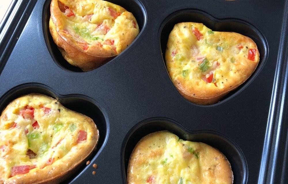 Ontbijtrecepttip: makkelijke ei muffins