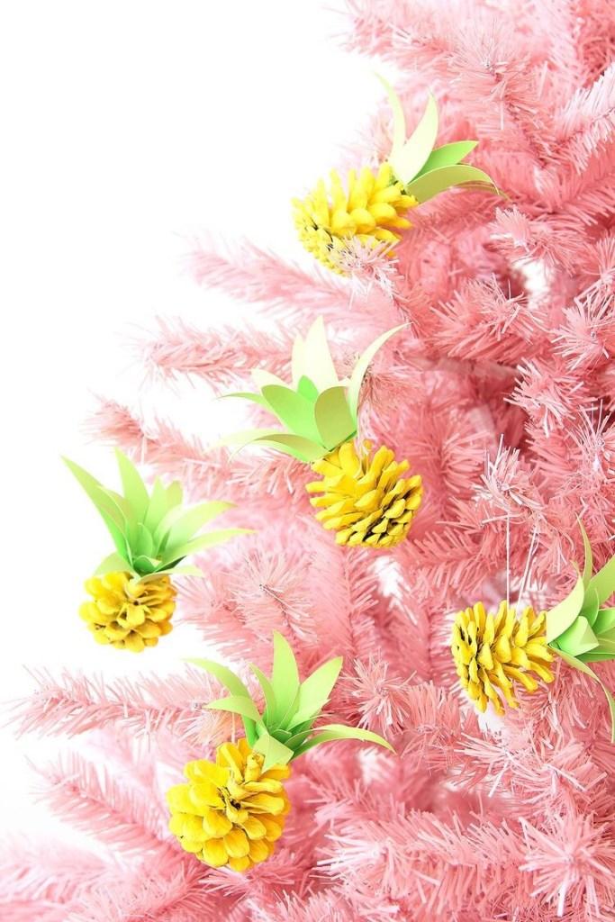 ananas kerstdecoratie
