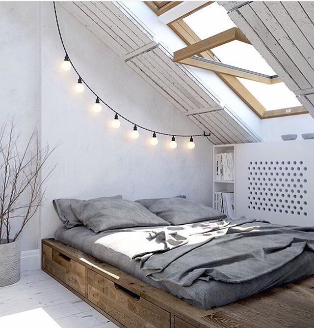lichtsnoer in de slaapkamer