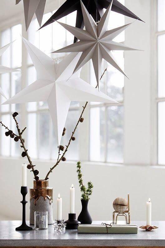 kerststerren