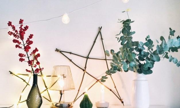 DIY: kerstster van houten takken