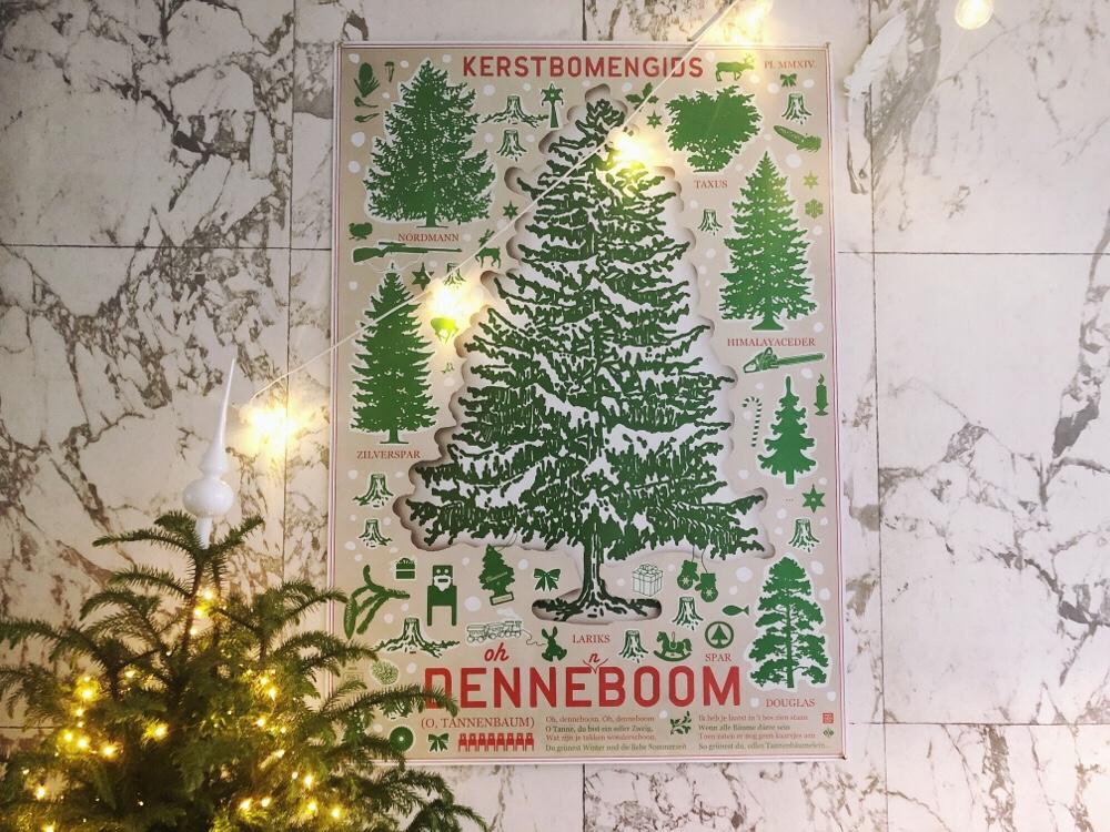 kerstboom poster