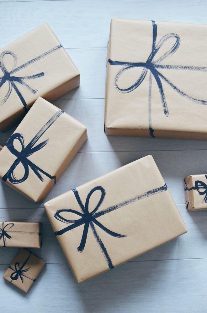 cadeautjes inpakken voor Kerstmis