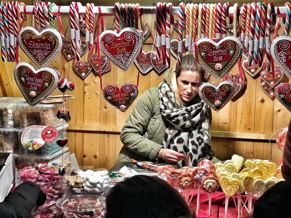 kerstmarkt ljubljana