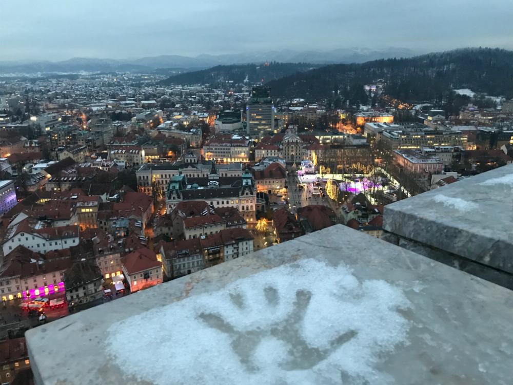uitzicht over ljubljana