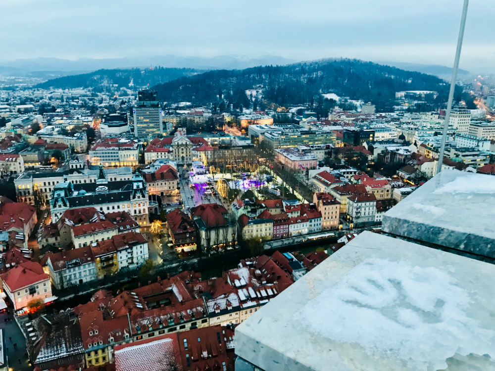 uitzicht kasteel ljubljana