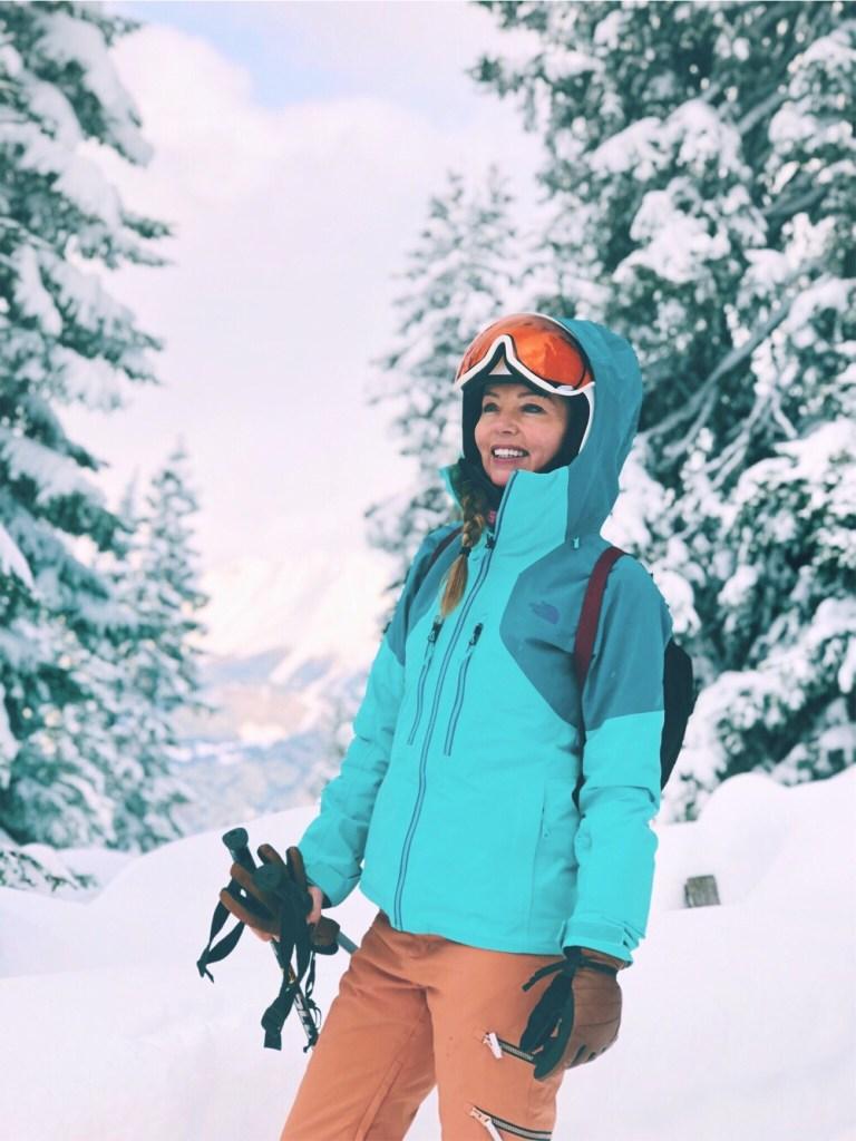 The Northface skijas