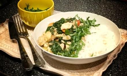 Snel recept: Rijst met kip en pesto