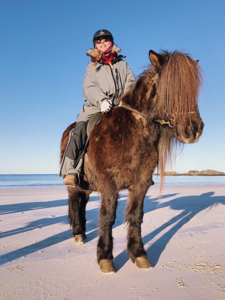 paardrijden op de Lofoten
