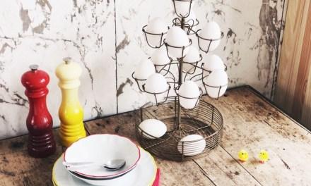 Winnen: etagère voor eieren (van Deens.nl)