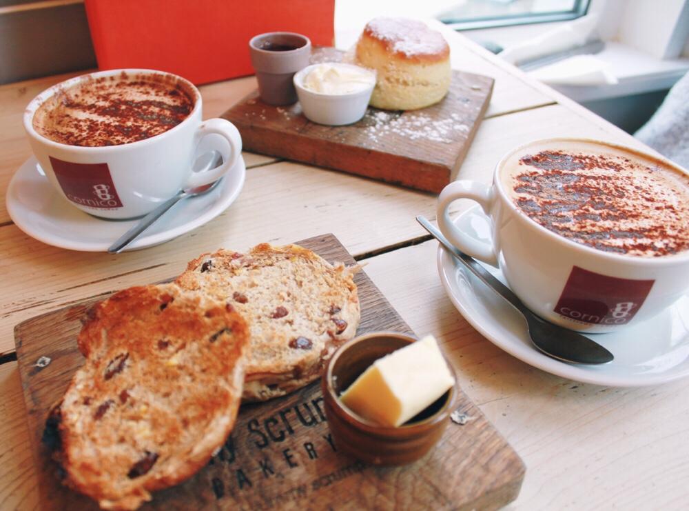 Lekkere koffietentjes in Cornwall