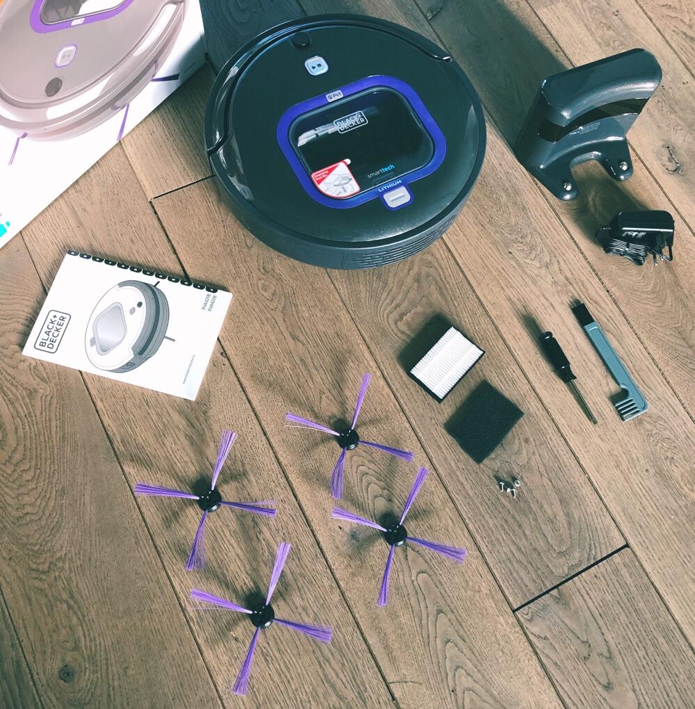 Black & Decker robotstofzuiger