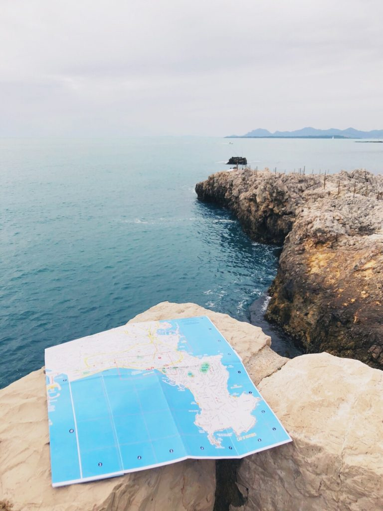 hike tip Cape d'Antibes