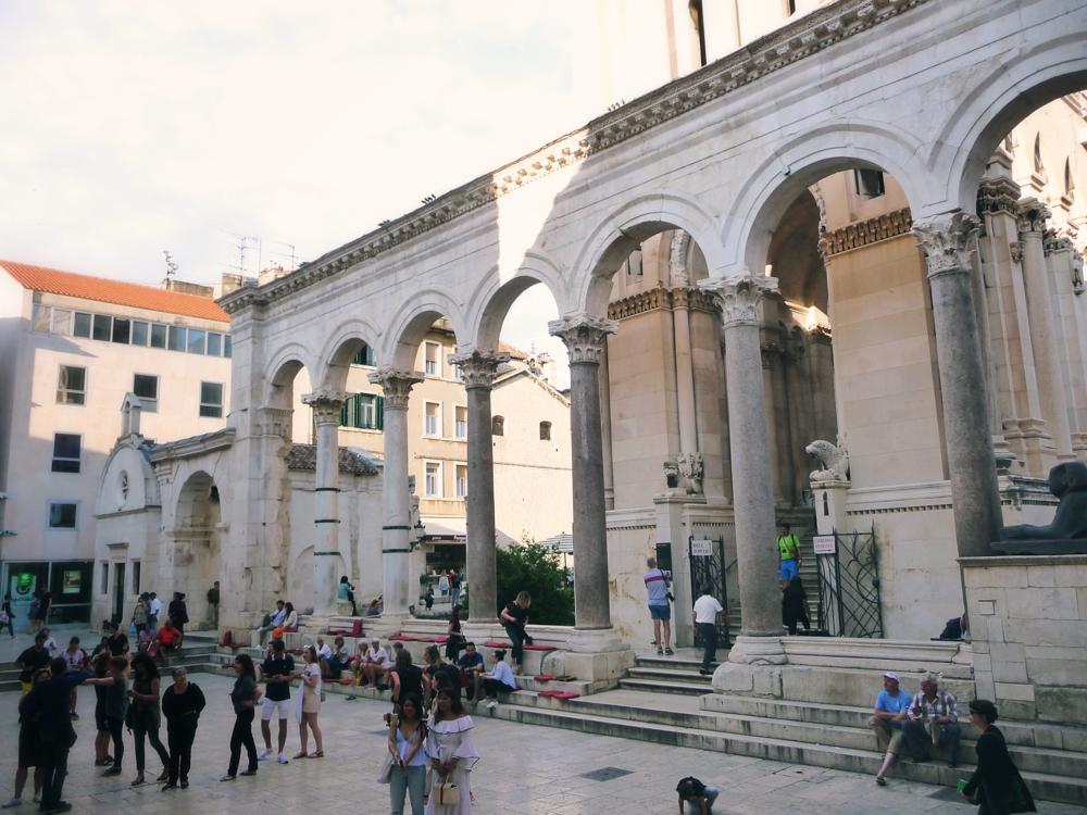 paleis in Split - Kroatie