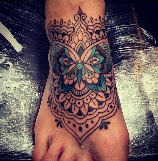 tattoo on dark skin